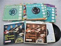 FOR SALE. CLIFF & THE SHADOWS SINGLES. ALL FROM THE 1960'S. ALL LISTED. NO REASONABLE OFFER REFUSED.