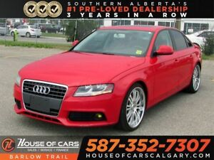 2009 Audi A4 2.0T /  Heated leather seats / Bluetooth
