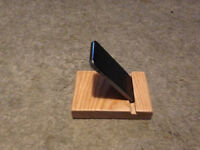 Solid Wood Phone Stand