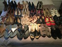 28 Pairs of Shoes, Sandals and Boots