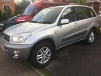 Toyota Rav4, Automatic 5 door. Low miles, 51,200 with FSH.