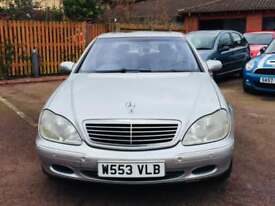 Mercdes S500..320 BHP...full history..nationwide delivery..1895