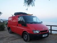 Newly Converted Ford Transit Campervan