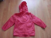 Girls 3-4 Years Raincoat