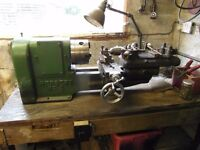 Lathe Ideal for hobby & home workshop