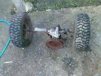 Lawnmower gearbox
