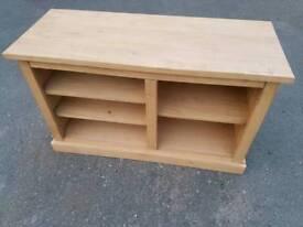 Tv Cabinet - 5 Compartment Pine Tv Cabinet