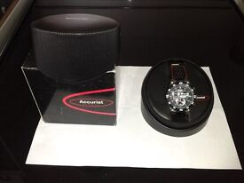 Accurist MS653B, NEW, quality Gents chronograph, wrist watch, water resistant to 100m, Boxed,