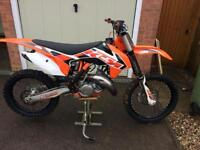 Ktm 150sx 2015 road registered, no swaps