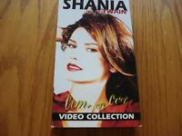 SHANIA TWAIN COME ON OVER VIDEO COLLECTION CASSETTE VHS