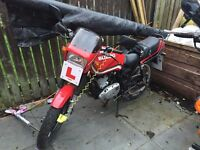 Suzuki GS125 1989 project with MOT