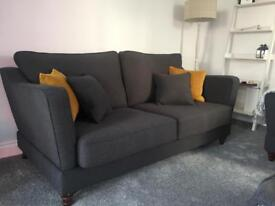 Brand new sofa for sale - charcoal grey