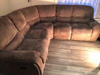 2 Grey Corner Suite Sofas from Harveys