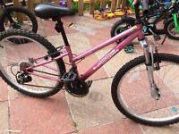 Ladies / girls Apollo mountain bike