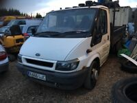 Ford transit tipper no mot