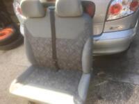 vauxhall movano seat