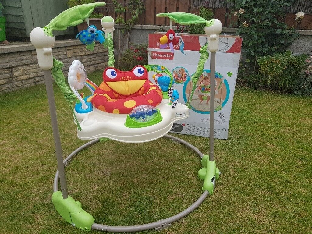 279e6ad8f135 Fisher Price Jungle bouncer walker jumperoo