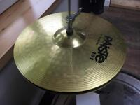 Paiste 101 Cymbals: hi hats and ride, excellent condition