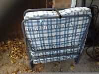 Single foldaway guestbed with good thick mattress in very good condition can deliver local