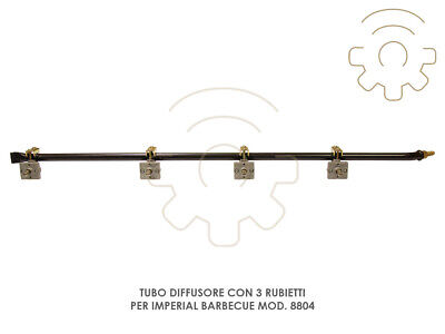 Hose Diffuser Replacement with 4 Taps for Imperial Barbecue Model 8804