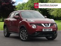 Nissan Juke 1.6 Tekna 5dr Xtronic (force red) 2017