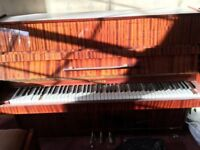 Water damaged piano free when uplifted