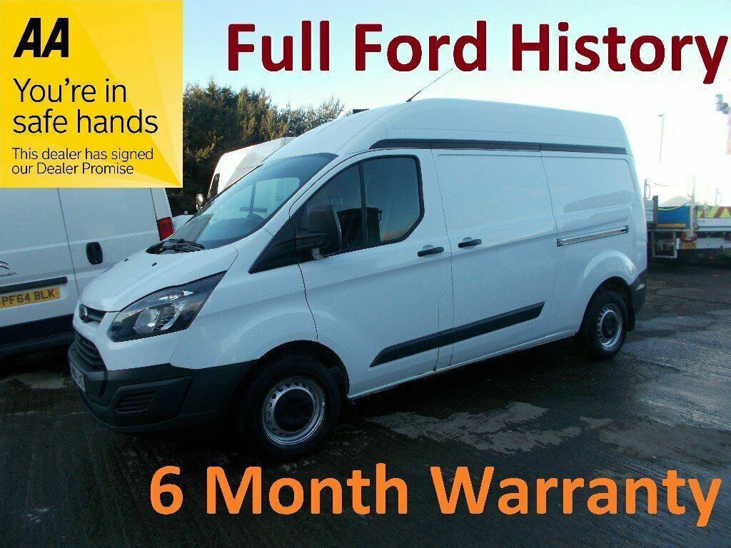 38affcf6dc Ford Transit Custom 2.2 TDCI 125 290 LWB H Roof