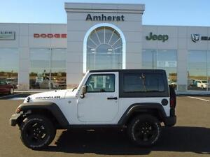 2016 Jeep Wrangler SPORT 4X4 6-SPEED MANUAL NEW VEHICLE FULL FAC