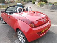 FORD KA CABRIOLET,NEW MOT,ONLY 58 000 MILES