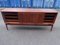 Retro Vintage Mid Century 1960s Teak Sideboard Cabinet Danish,Can Deliver