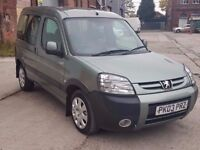 2003 PEUGEOT PARTNER ESCAPADE 2.0 HDI, DIESEL, 90BHP, MANUAL, 5 DOORS ESTATE, TOW BAR, LONG MOT!!