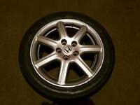 Honda Civic 2006 Alloy wheel with (Brand new Tyre)