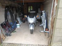 Honda Super Blackbird 2002 with history, spare Akrapovic system, TomTom Rider, full Givi luggage