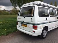 Camper van for sale, 2001 VW Autosleeper Trooper 2.4D, low mileage, £15.750 ono