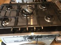 CDA Stainless Steel 5 Burner Gas Hob New and Unused
