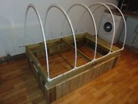 Self-Watering Raised Bed Hoop-House