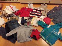 9-12 month large boys clothes bundle