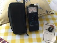 Pocket size sound meter Two scales