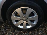 """4 x 16"""" alloys + tyres"""