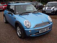 MINI COOPER 2004 54 1.6 LTR PETROL 1 YEAR MOT SERVICE HISTORY WARRANTIED CLEAN CAR!!!