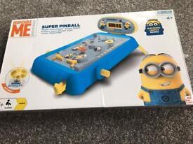 Minion pinball game