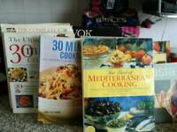 Good selection of cook books