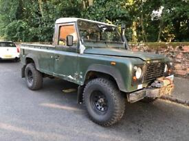 Landrover 110 single cab pick up 200tdi