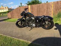 Harley Davidson fourty eight bobber custom
