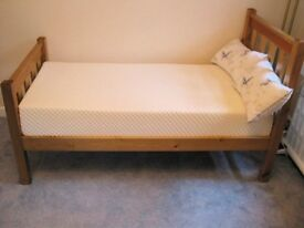 Small single bed