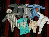 Baby boy bundle 3-6 branded