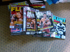 LARGE AMOUNT OF WEIGHT LIFTING / FITNESS MAGAZINES