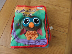 Lamaze Peek A Boo Forest Soft Play Book