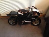 Mini moto black