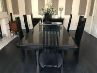Luxury Dining Table & Six Chairs